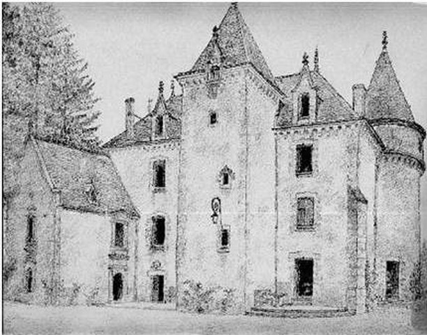 La Façade du Château du coté de la Grande Terrasse