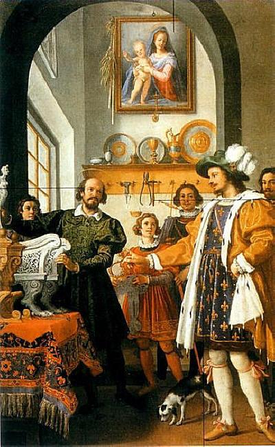 L'honnêteté de saint Eloi, 1614, Tableau de Jacopo Chimenti ; Galerie des Offices ; Florence