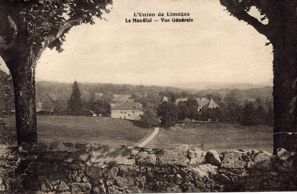 Colonie de vacances de l'union de Limoges. CPA collection privée.