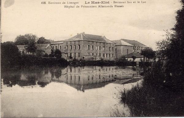 Mas Eloi, hôpital militaire pour prisonniers allemands, collection privée