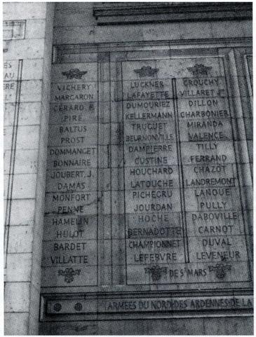 Le nom de Bardet apparaît dans la première colonne, deuxième en partant du bas.