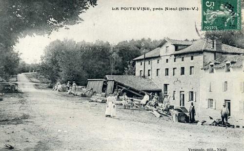 Moulin de la Poitevine, carte postale ancienne, collection privée.
