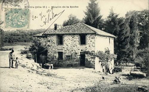 Moulin de La Roche, carte postale ancienne, collection privée.