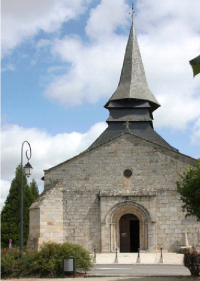 EglisedeCouzeix, crédit photo,SylvianeJary, Mémoire deNieulet Alentours