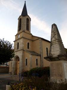 Eglise de Chamborêt, crédits photo Stéphane Lefevre, - © Inventaire général, ADAGP