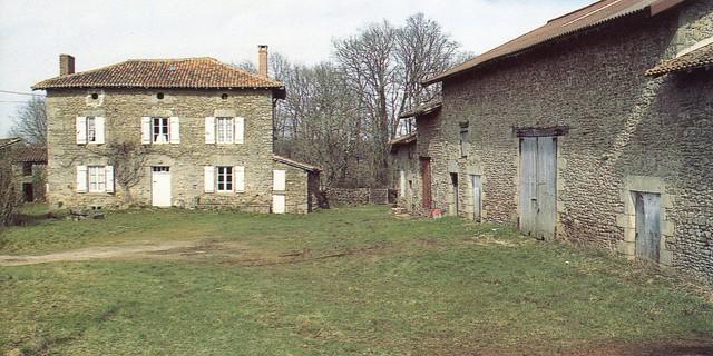 Ferme de LaGagnerie, crédit photo,PhilippeRivière, Inventaire général,ADAGP