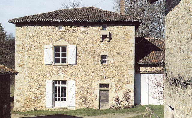 Ferme deLavaud,Saint-Jouvent, crédit photoPhilippeRivière, Inventaire général,ADAGP