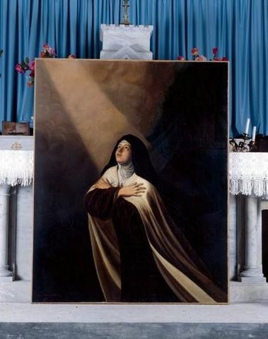 Sainte Therese d'Avilla eglise de Thouron