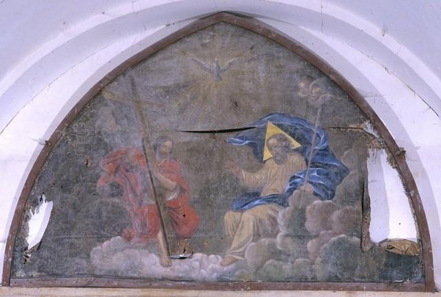 Tableau de la trinite eglise de Thouron