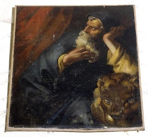 Tableau Saint Marc et le lion
