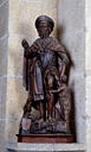 Statue de St Roch